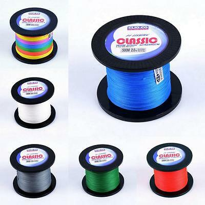 CLIO.CO 100M-500M PE Dyneema Strong Multifilament Braided Sea Fishing Line