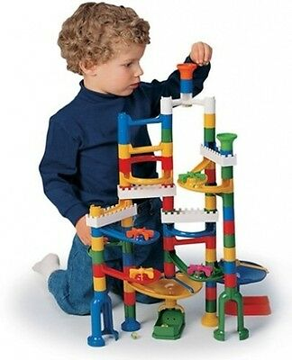 Marvel Education Company Marble Run Kit with 12 Marbles, 68-Piece. Free Delivery