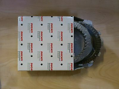 Genuine Ducati Spare Parts Clutch Plate Set, 620, 695, 696, Monster 19020161A