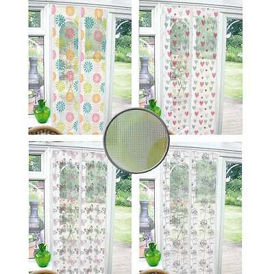 INSECT Mesh DOOR SCREEN Fly Bug Mosquito Net Curtain Magnetic Fastening Guard
