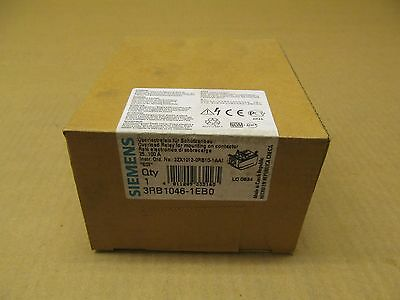 1 Nib Siemens 3Rb1046-1Eb0 3Rb10461Eb0 Overload Relay 25-100 Amp Factory Sealed