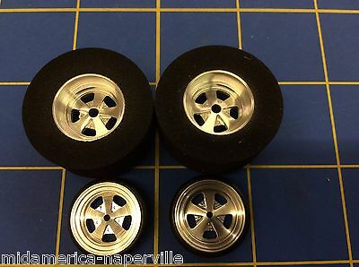 "JDS SS Cragar 1 3/16"" dia x500 wide Drag Tires plus Fronts  MA Naperville"