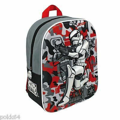 Star Wars Rebels sac à dos M cartable 3D backpack maternelle 31 cm 734535