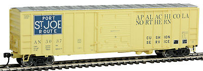 Walthers HO Scale 50' ACF Exterior Post Boxcar Apalachicola Northern #5037