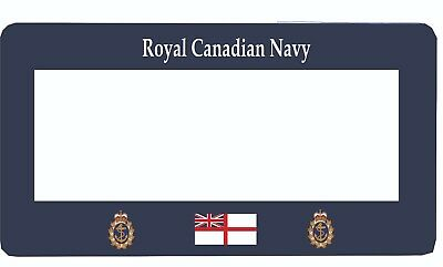 Pre 1968 Royal Canadian Navy License Plate Frame