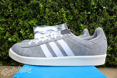 hot sale online 138c4 3969d Adidas Campus 80s Bw Sz 11.5 Bedwin And The Heart Breakers Grey White  S75675