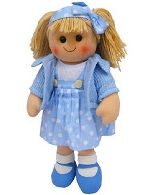 New Childs Toy Hopscotch Rag doll woollen hair soft body & outfit ragdoll Coco