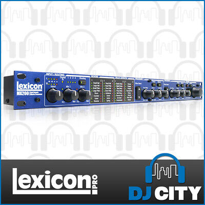 MX200 Lexicon Dual Reverb Effect Processor