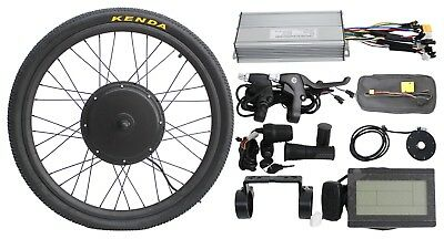 36/48V 1000w Front Wheel Electric Bike Conversion Kit with Sine Wave Controller