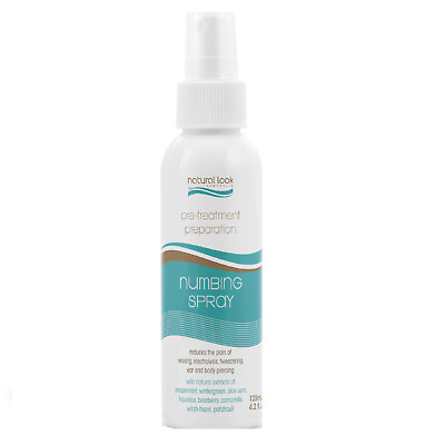 Natural Look Numbing Spray Pre-Treatment Preparation 125ml