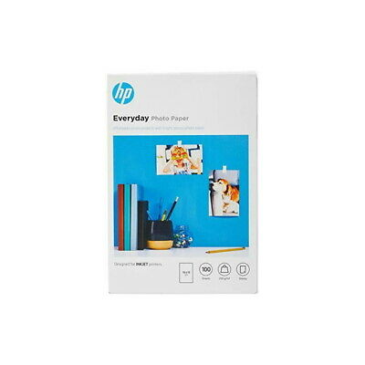 """HP 10x15 (6""""x4"""") EVERYDAY GLOSSY PHOTO PAPER 200GSM - 100 SHEETS - CR757A"""