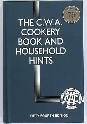 The CWA Cookery Book and Household Hints 54th Edition - (SHELF PULLS)