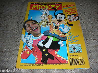Mickey Le Journal De Mickey # 2043 Aug1991 French Comic