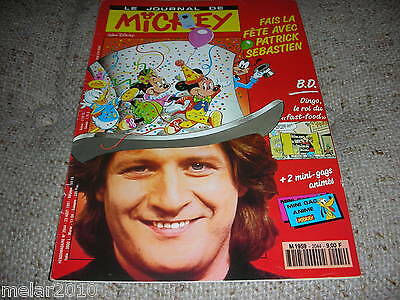 Mickey Le Journal De Mickey # 2044 Aug1991 French Comic
