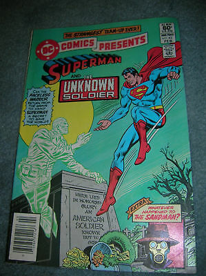 1982 Dc Comic Presents Sperman & The Unknown Soldier 42
