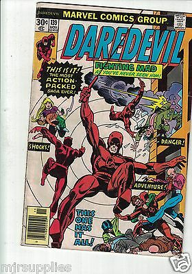Marvel Daredevil Comic Vol 1  No 139 Marvel Comics 1976