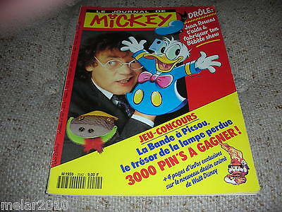 Mickey Le Journal De Mickey # 2042 Aug1991 French Comic