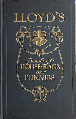 Lloyd's Book of House Flags & Funnels -1912