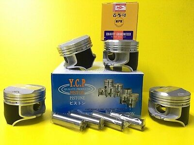 YCP 75mm P29 Pistons High Dome Compression Honda Civic CRX D16 SOHC