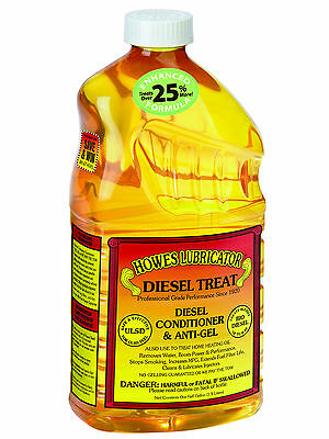 Howes Lubricator Diesel Treat, Diesel Conditioner and Anti-Gel 1/2 Gallon (64oz)