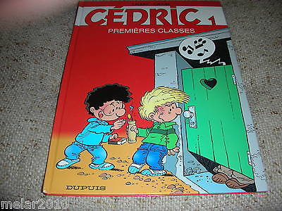 Cedric: Premieres Classes, 1 Hardcover EDITION FRENCH-1989