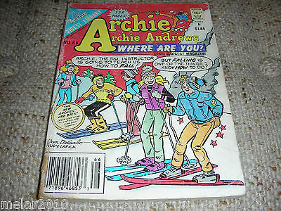 Archie Archie Andrews Where Are You Comic Digest  Magazine # 66 Feb 1990