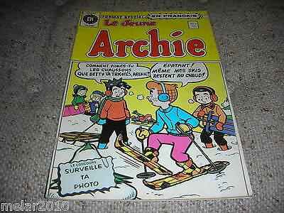 Le Jeune ARCHIE # 3 1973  HERITAGE EDITION FRENCH