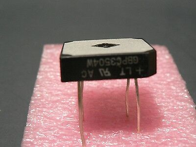 "3 Pcs Liteon Lt Gbpc3504W 400V 35A 4 Pin Bridge Rectifier ""free Us Shipping"""