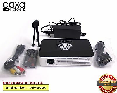 AAXA P700 HD LED Pico Projector, 650 Lumens, Battery Powered (Refurbished)