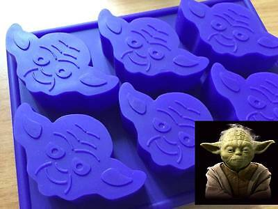 Star Wars Yoda Silicone Chocolate Ice Cake Muffin Mold Mould Party Novelty Fun