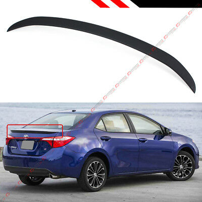 Abs Oe Jdm Sport Trunk Lid Spoiler Wing For 2014-2018 Toyota Corolla L Le Se Xse