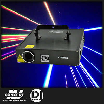 Concert Series 1.5 watt RGB Animation Laser BRAND NEW GENUINE