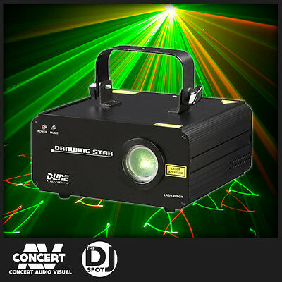 Dune Drawing Star Laser RGY - Red, Green and Yellow Laser - DJ Laser,