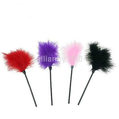 Feather Tickler intimate Crop Whip Sex Aid Spanking Bondage Toys Fancy Dress CA