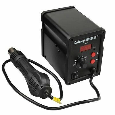 Kaleep 858D Hot Air Gun SMD REWORK STATION Iron Solder Soldering Welding