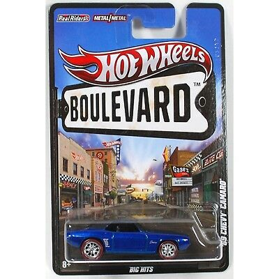 Hot Wheels 2012 Boulevard Collection - '69 Chevy Camaro. Shipping Included