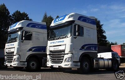 DAF XF SUPER SPACECAB  extra STICKERS FOR DAF 106 EURO 6