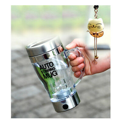 Auto Mixing Blender Travel Stirring Mug Electric Bottle Mixer Cup Transparent