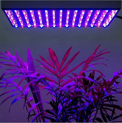 225 SMD LED Grow Lights Spectrum for Hydroponic Indoor Plant Growth Red+Blue 15W