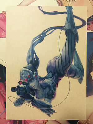 Overwatch Widowmaker Vintage Style Home Decor Poster Wall Mural Painting 42*29.7