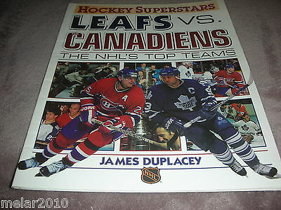 The Leafs vs. The Canadiens Hockey Superstars James Duplacey