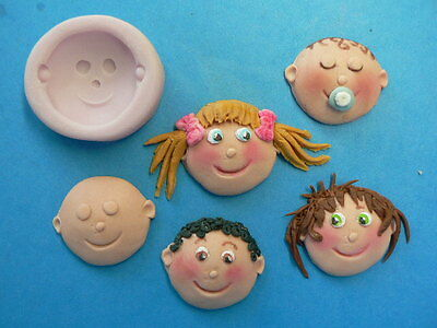 Cake Decorating - Funny Faces Mould