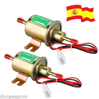 2x 12V Bomba Combustible Gasolina Diesel Eléctrica for Coche Toyota Nissan Mazda