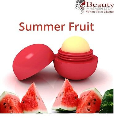 Smooth Summer Fruit Natural Moisturizing Plant Lip Balm - 7g