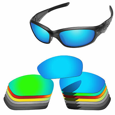 2fabe2dfbece9 PapaViva Polarized Replacement Lenses For-Oakley Straight Jacket 2007  Options