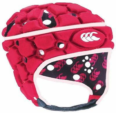 Casque CANTERBURY Ventilator Headguard Rose Pink Flag Red Taille Size XL *NEUF*