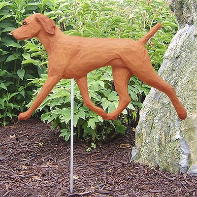 Vizsla Outdoor Garden Sign Hand Painted Figure