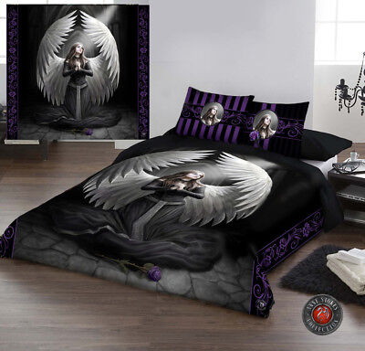 GUARDIAN ANGEL - Duvet Cover Set for DOUBLE BED artwork by Anne Stokes