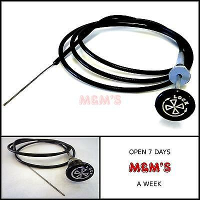 "Classic Mini / Universal 60"" Locking Choke Cable"