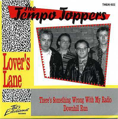"""7"""" 45 The Tempo Toppers - Lover's Lane / ...uhh? / There's Something Wrong With"""
